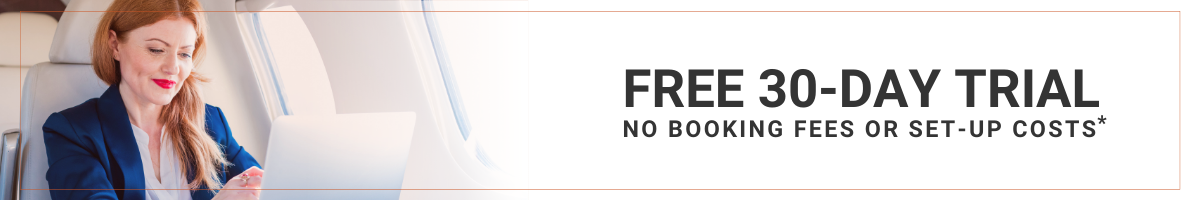 30-day free trial | corporate travel agency